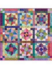 Bali Jewels Quilt Pattern