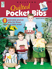 Quilted Pocket Bibs - Electronic Download