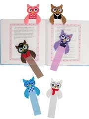 Owl Buddy Bookmarks - Electronic Download
