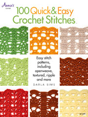 100 Quick & Easy Crochet Stitches - Electronic Download