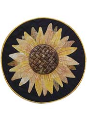 Sunflower Table Topper Pattern - Electronic Download