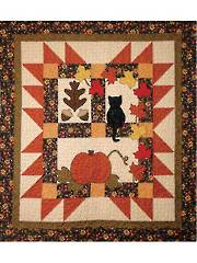 Autumn Motifs Quilt Pattern - Electronic Download