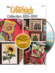 The Just CrossStitch 2001-2010 Collection DVD