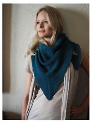 Rustic Shawl Knit Pattern