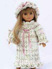 Pioneer Doll Nightgown - Electronic Download