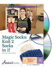 Magic Socks: Knit 2 Socks in 1 Class DVD