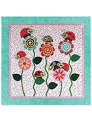 Ladybugs & Kisses Quilt Pattern - Electronic Download