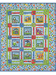 All Boxed In Quilt Pattern - Electronic Download