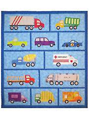 Just Trucks Quilt Pattern