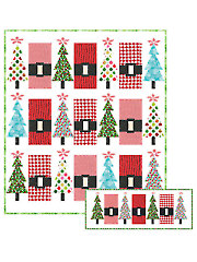 Santa's Jingle Belly Quilt Pattern - Electronic Download