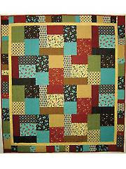 Four by Four Quilt Pattern - Electronic Download
