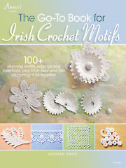 The Go-To Book for Irish Crochet Motifs - Electronic Download