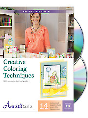 Creative Coloring Techniques Class DVD