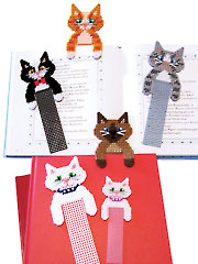Cute Kitty Bookmarks - Electronic Download