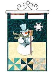 January Little Blessings Wall Hanging Pattern - Electronic Download RVQ0200
