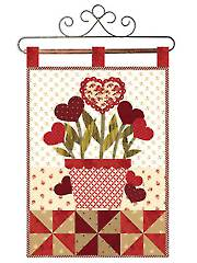February Little Blessings Wall Hanging Pattern - Electronic Download RVQ0201