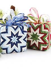 The Gift Box No-Sew Ornament Pattern - Electronic Download