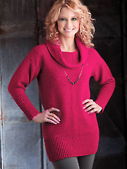 Cranberry Sweater Tunic - Electronic Download