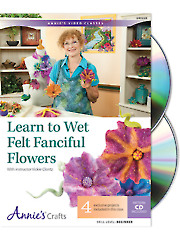 Learn to Wet Felt Fanciful Flowers Class DVD GAV22D