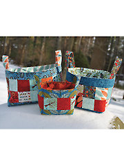 Basket of Charm Sewing Pattern - Electronic Download
