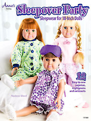 Sleepover Party - Sleepwear for 18-Inch Dolls - Electronic Download