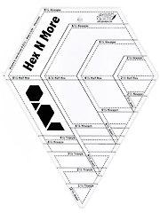Hex N More Ruler