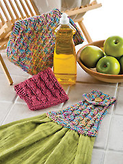 Handy Hostess Set Knit Pattern - Electronic Download AK00655