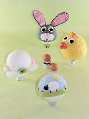 Spring & Easter Hats Crochet Pattern - Electronic Download