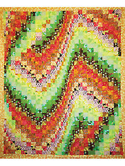 Fractal Harmony Quilt Pattern - Electronic Download