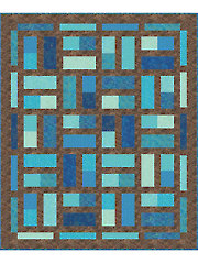 Fat Dominos Quilt Pattern - Electronic Download