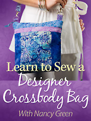 Learn to Sew a Designer Crossbody Bag