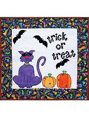 Trick or Treat Wall Hanging Pattern