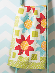 Big Blooms Quilt Pattern - Electronic Download VQ00766
