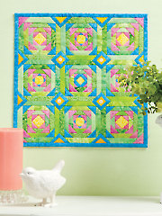Pineapple Delight Quilt Pattern - Electronic Download VQ00769