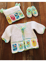 Owl Baby Layette - Electronic Download