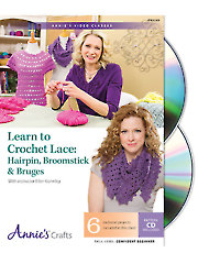 Learn to Crochet Lace: Hairpin, Broomstick & Bruges Class DVD
