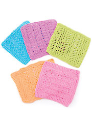 Baby Facecloths Knit Pattern