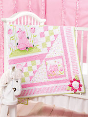 Posy Patch Quilt Pattern - Electronic Download VQ00785