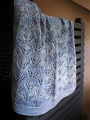 Cradle Me Blanket Knit Pattern