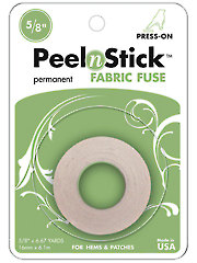 Peel 'n stick(tm) Fabric Fuse Roll