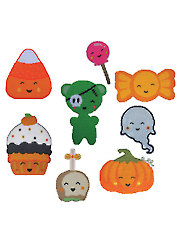 Kawaii Halloween Treats_Greets - Electronic Download
