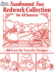 Sunbonnet Sue Redwork Collection - Electronic Download