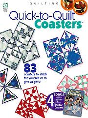 Quick-to-Quilt Coasters & Bonus Quilted Coasters