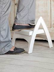 Quick Fold Step Stool