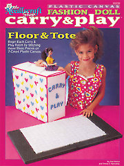 Fashion Doll Carry & Play Floor & Tote