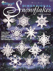 Dimensional Snowflakes Crochet Pattern