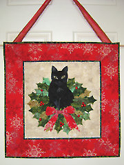 Christmas Trouble Wall Hanging Pattern
