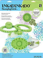 Inkadinkado� Stamping Gear� Circle/Oval Deluxe Set