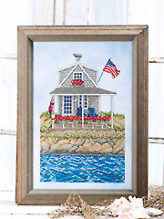 Cape Cod Summer Cross Stitch Pattern - Electronic Download VX00189