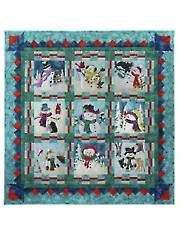Snow Buds Complete Quilt Pattern Set
